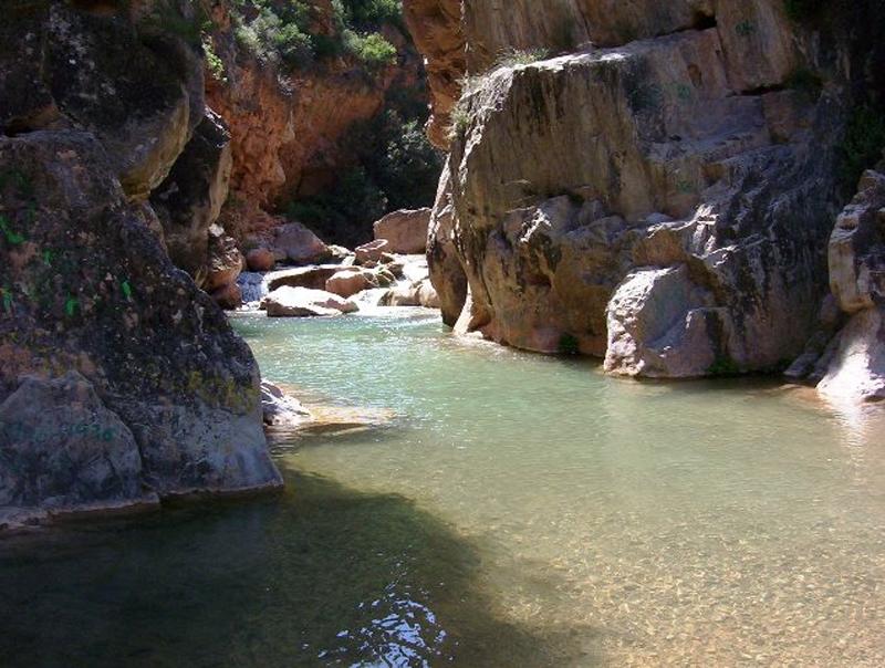 baño en chelva rio tuejar la playeta