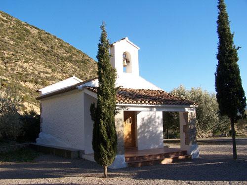 Ermita de San Roque donde empieza la ruta del agua