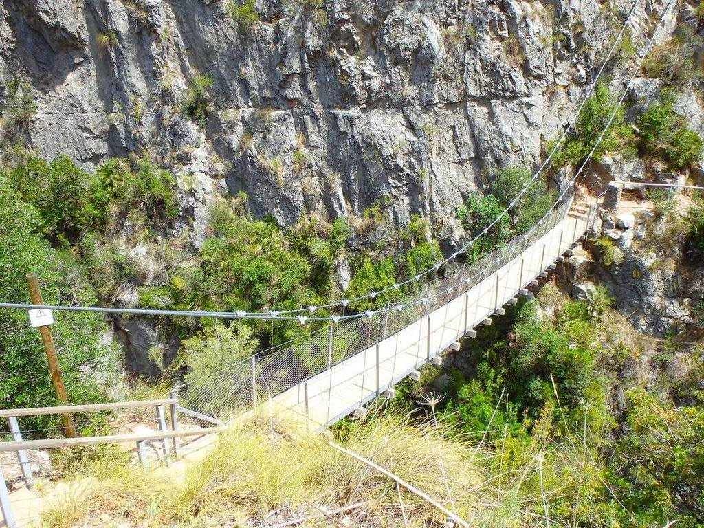 Puentes Colgantes Chulilla